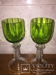 Два старинных бокала, фото №4