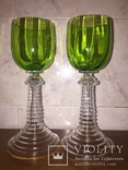 Два старинных бокала, фото №6