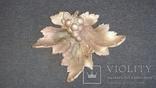 Пепельница виноградный лист. НИМОР ЧСЗ, фото №2