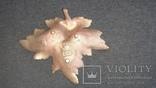 Пепельница виноградный лист. НИМОР ЧСЗ, фото №4