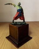 Запорожский казак, 16-18 вв. (оловянная миниатюра), фото №3