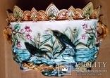 Жардіньєрка, майоліка, Франція, Н23x36x23 см, фото №4