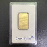 Слиток золота CREDIT SUISSE, 20г., фото №2