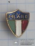 Значок Мехико горячая эмаль иголка 1974, фото №2