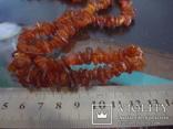 Бусы Янтарь + браслет 48,6гр., фото №5