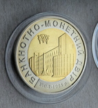 Жетони та медаль НБУ / Графічний знак, Златник, 2003, пам'ятна медаль /, фото №9