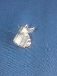 """Коллекционная миниатюра-брелок """"Ангел с книгой"""". Латунь. Германия, фото №3"""
