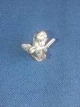 """Коллекционная миниатюра-брелок """"Ангел с книгой"""". Латунь. Германия, фото №5"""