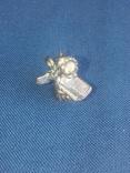 """Коллекционная миниатюра-брелок """"Ангел с книгой"""". Латунь. Германия, фото №6"""