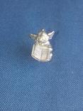 """Коллекционная миниатюра-брелок """"Ангел с книгой"""". Латунь. Германия, фото №7"""