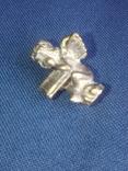 """Коллекционная миниатюра-брелок """"Ангел с книгой"""". Латунь. Германия, фото №9"""