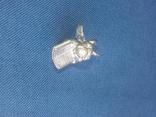 """Коллекционная миниатюра-брелок """"Ангел с книгой"""". Латунь. Германия, фото №11"""