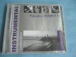 "Fausto PAPETTI ""Insnrumental"" CD, фото №2"