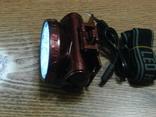 Аккумуляторный налобный фонарь Yajia YJ-1898, фото №4