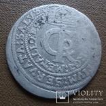 Тымф 30 грош 1664   серебро (Я.4.4)~, фото №4