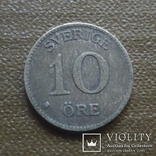 10 эре 1919 Швеция серебро (Д.4.1)~, фото №2