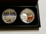 Набор из 5 монет - Открой Австралию - 2006 год, серебро 999, футляр, сертификаты, фото №5