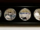 Набор из 5 монет - Открой Австралию - 2006 год, серебро 999, футляр, сертификаты, фото №6