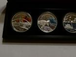 Набор из 5 монет - Открой Австралию - 2006 год, серебро 999, футляр, сертификаты, фото №7