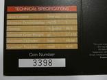 Набор из 5 монет - Открой Австралию - 2006 год, серебро 999, футляр, сертификаты, фото №10