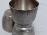 Рюмки покрытые серебром, фото №6