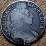 Британия 1/2 кроны 1697 г., фото №3