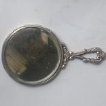 Зеркальце серебро, фото №2