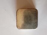 Табакерка серебро, фото №2