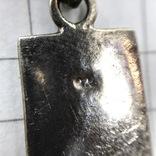 Подвес серебро на цепочке, фото №6