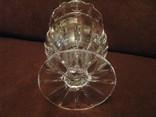 Ваза - кубок - Тюльпан - хрустальное стекло- высота 18 см., фото №8