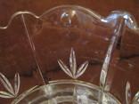 Ваза - кубок - Тюльпан - хрустальное стекло- высота 18 см., фото №12