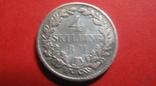 Данія 4 скіллінга 1854, фото №3