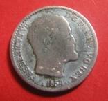 Данія 4 скіллінга 1854, фото №4