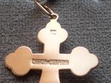 Крестик золото 585., фото №5