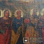 Икона Святых храмовая 78см * 72см, фото №3