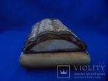 Шкатулка для украшений натуральная кость резьба Европа, фото №5