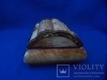 Шкатулка для украшений натуральная кость резьба Европа, фото №7