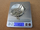 Ожерелья из серебра, фото №9