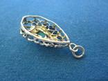 Кулончик серебро., фото №6