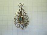 Кулончик серебро., фото №9