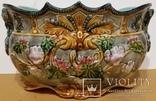 Жардіньєрка, майоліка, Франція, Н19,5х36х23 см, фото №2