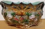 Жардіньєрка, майоліка, Франція, Н19,5х36х23 см, фото №3