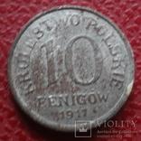 10  феннигов 1917   королевство  Польское   (Б.6.4)~, фото №2