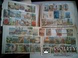 Альбом с вырезками из почтовых конвертов (34листа), фото №3