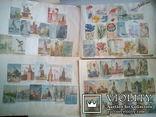 Альбом с вырезками из почтовых конвертов (34листа), фото №7