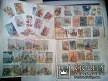 Альбом с вырезками из почтовых конвертов (34листа), фото №9