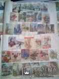 Альбом с вырезками из почтовых конвертов (34листа), фото №11
