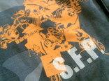 Sabotage semper unique - плотные шорты с ремнем, фото №10