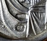 Іконка Казанська Богоматір, 84, 4,5х3,9 cm, 1908-1917рр., фото №7