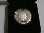 Морская жизнь Австралии - Мурена - серебро, 50 центов, фото №4